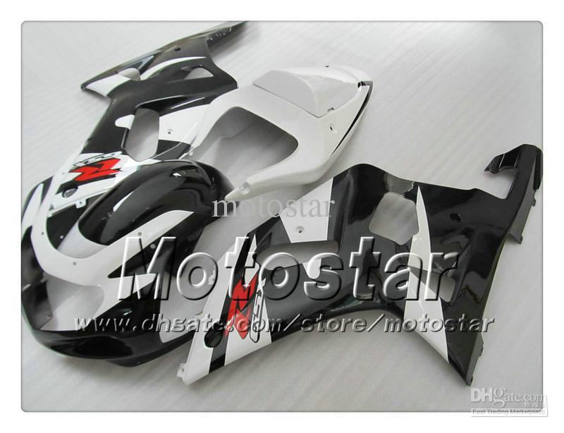 Carénage de carénage pour SUZUKI GSXR 600 750 K1 2001 2002 2003 GSXR600 GSXR750 01 02 03 R600 R750 kit carénage noir noir RR83