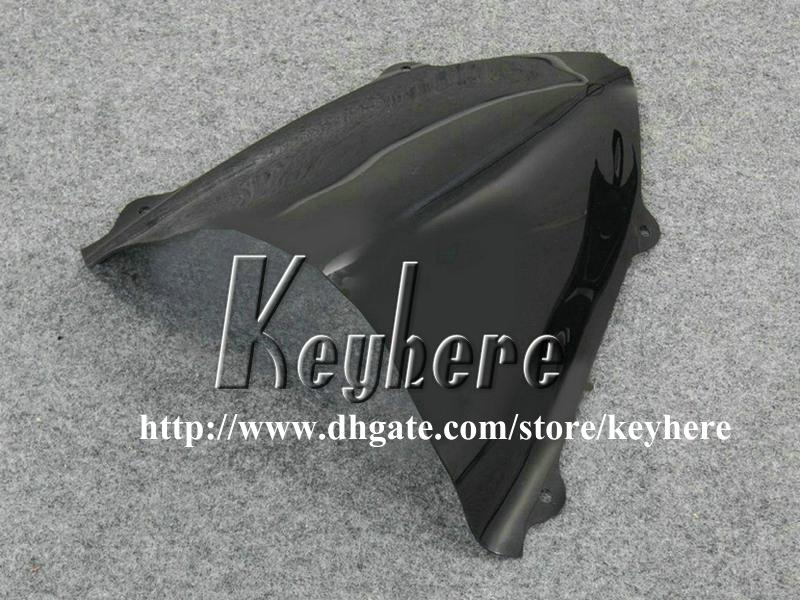 Kit de carenado de 7 regalos gratis para Kawasaki Ninja ZX250R 08 09 10 11 12 EX250 250R 2008 2009 2010 2011 2012 carenados G5m nuevo todo el cuerpo negro plano