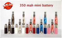 Wholesale Mini Dct Tank - EGO 350mAh Mini Battery Electronic Cigarette eGo-T Fit CE4 CE4+ CE5 DCT MT3 Atomizers Tanks E-cigarettes Batteries