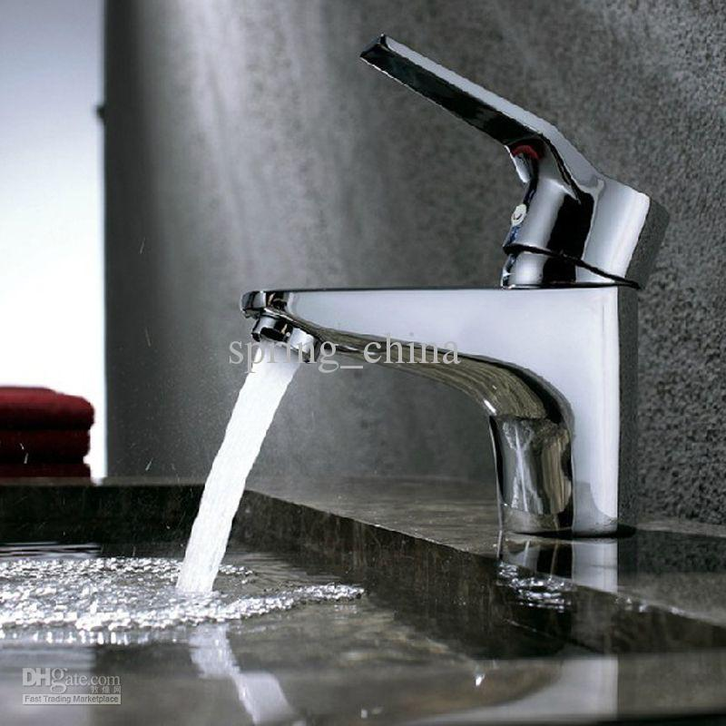 Bathroom Faucet Finishes 2017 2017 single hole basin faucet brass hot cold mixer tap bathroom