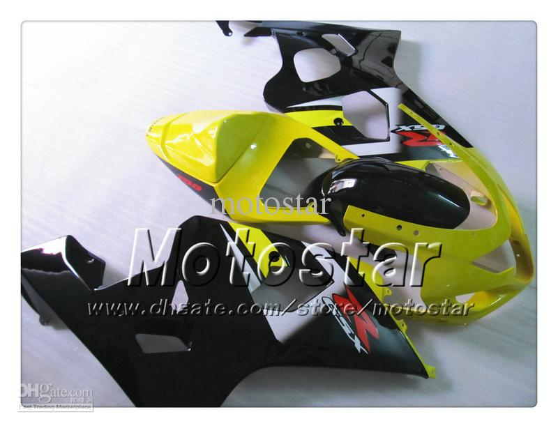 Custom bodywork fairings for SUZUKI GSXR 600 750 K4 2004 2005 GSXR600 GSXR750 04 05 R600 R750 ABS motorcycle fairing SS13
