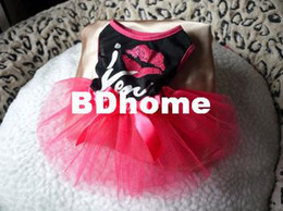 $enCountryForm.capitalKeyWord Canada - CUTE ROSE AND BLACK LACE Small Pet Dog Cat puppy Clothes dress size XS S M L SEXY LIP