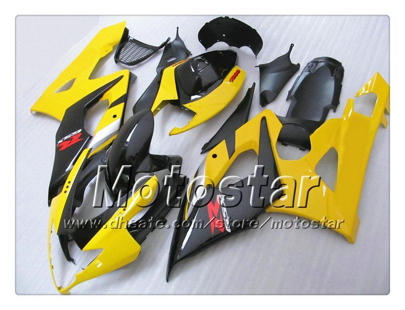 Kit carrozzeria personalizzato SUZUKI GSXR 600 750 K4 2004 2005 GSXR600 GSXR750 04 05 R600 R750 Cupolino ABS SS29