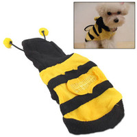 Wholesale Dog Dressed Bumble Bee - Bumblebee Dog Halloween Costume Clothes Pet Apparel Bumble Bee Dress Up