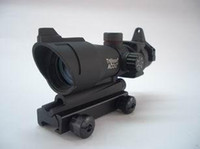 Wholesale Types Red Dot Sights - HJ Trijicon ACOG Type 1x32 Red&Green Dot Sight holographic red dot sight fit any 20mm rail