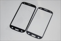 Wholesale Galaxy S3 Replacement Glass Screen - For i9300 Glass Digitizer Cover Replacement Screen Glass Len for Samsung Galaxy S3 I9300 White Black