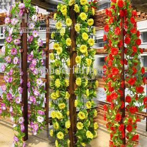 Online Cheap String Simulation Artificial Flowers Vine Arch Wall Wedding  Home Decoration Garland Holiday Party Decorations By Wonderfultime |  Dhgate.Com