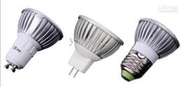 Canada Promotion en gros -1x! Détail haute puissance CREE 9W 3x3W GU10 / MR16 / E27 Led Lampe Lampe Spotlight Ampoule Led cheap mr16 led high power Offre