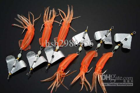 Assorted Fishing Spoon Spinner lure Hooks 5.9g