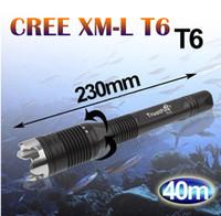 Wholesale Trustfire Mini Xml T6 - 1PC Diving Flashlight J2 CREE XML T6 4-Mode 1000 Lumens Flashlight Torch Power By 2x18650 Battery Diving LED Flashlight