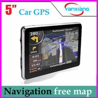 Wholesale Car Suport - 5inch car gps navigation,TFT touch screen,built-in 4gb suport fm,mp3,video player,.wince6.0 ZY-DH-02