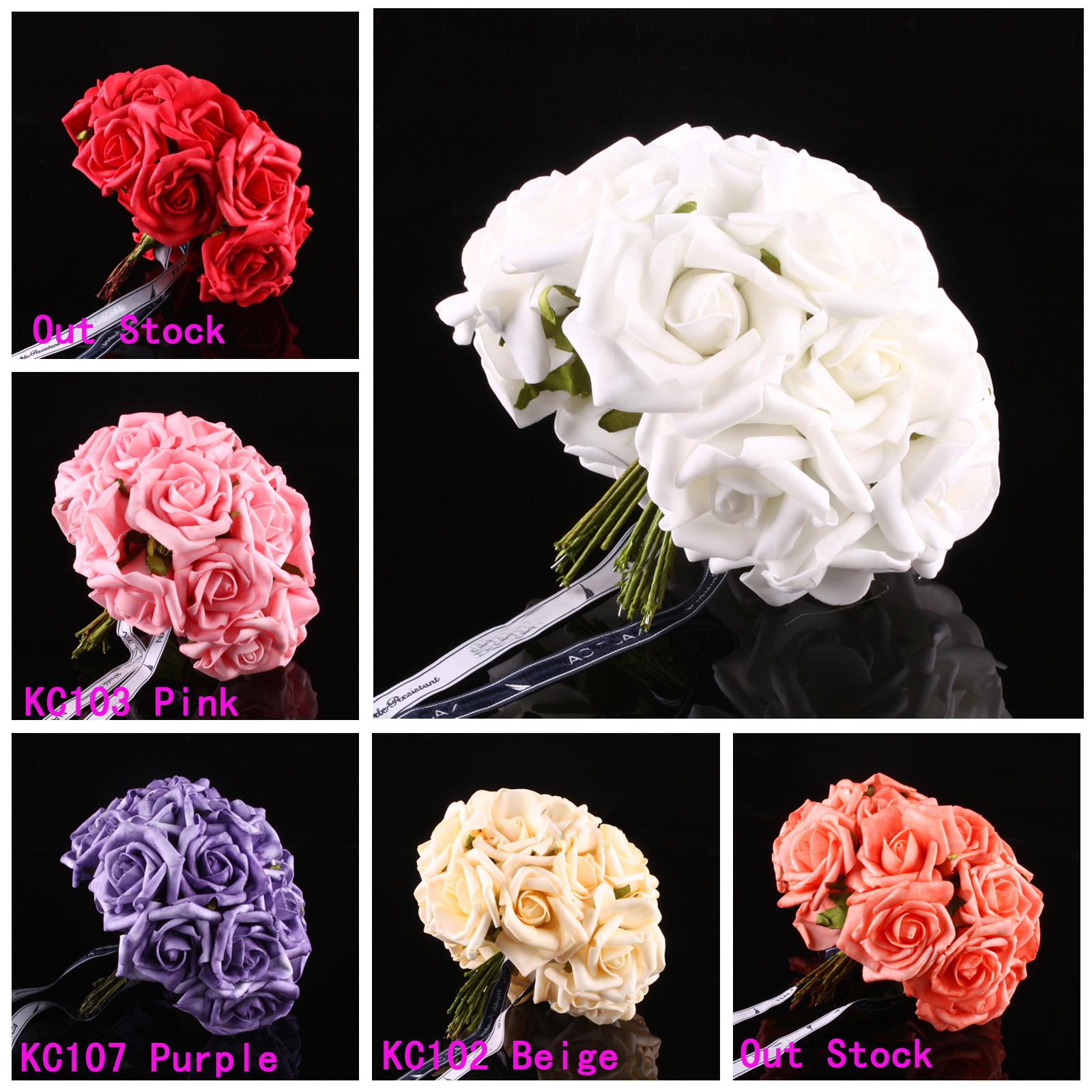 Rose bridal wedding latex real touch flowers bouquets diy charm rose bridal wedding latex real touch flowers bouquets diy charm dried flower arrangements fake flower arrangements from etongwolf 170 dhgate izmirmasajfo Image collections
