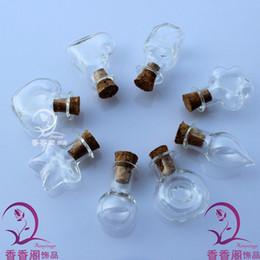Wholesale Fairy Dust Bottles Necklace - 20x20MM Aroma vials(8 Designs Available) Fairy Dust Bottles make a wish pendant necklace