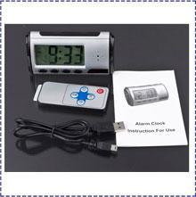 Wholesale Hidden Kamera - 5PCS LOT 480P Clock Hidden Kamera spy Camera ,Clock dvr,DVR USB Motion Alarm mini camera V5,mirror spy camera