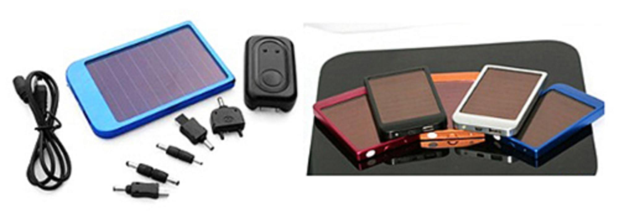 Carregador do painel da bateria solar de 2600mAh USB para o telefone MP3 MP4 PD com caixa varejo 100pcs / lot