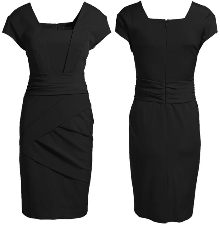 Spring Summer Sexy Women's Bandage Dress Kate Middleton Celebrity Dresses OL Lady Elegant Bodycon Work Dress