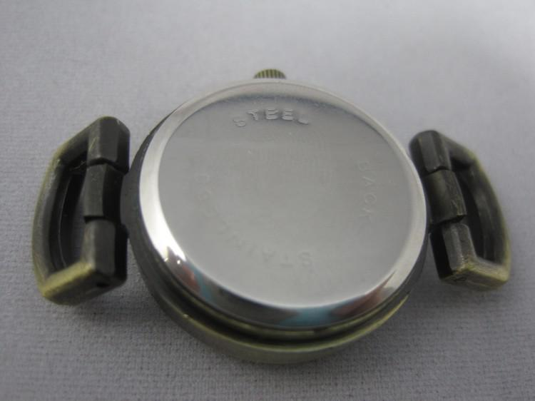 JQ Brand Silver Roman Vintage Watch Faces Dail Fit European Armband Handgjorda / DHL Gratis frakt