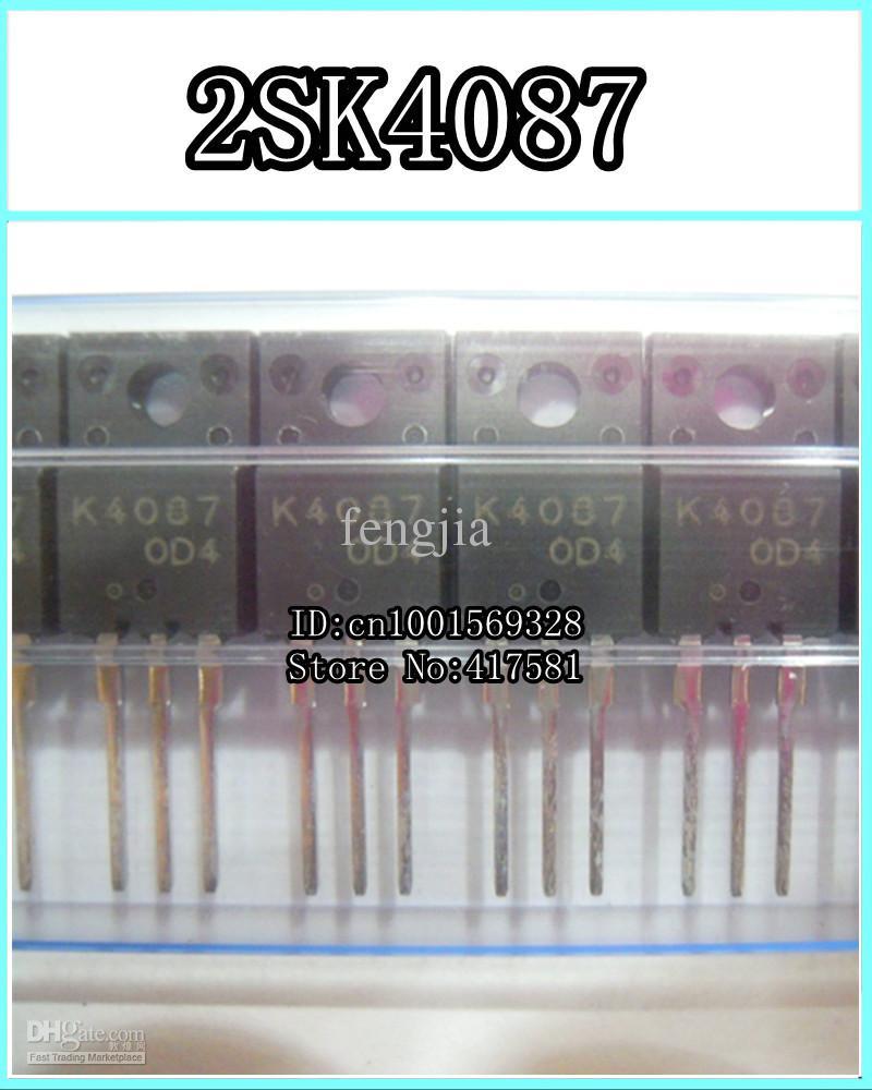 10PCS 2SK4087 K4087 TO-220F