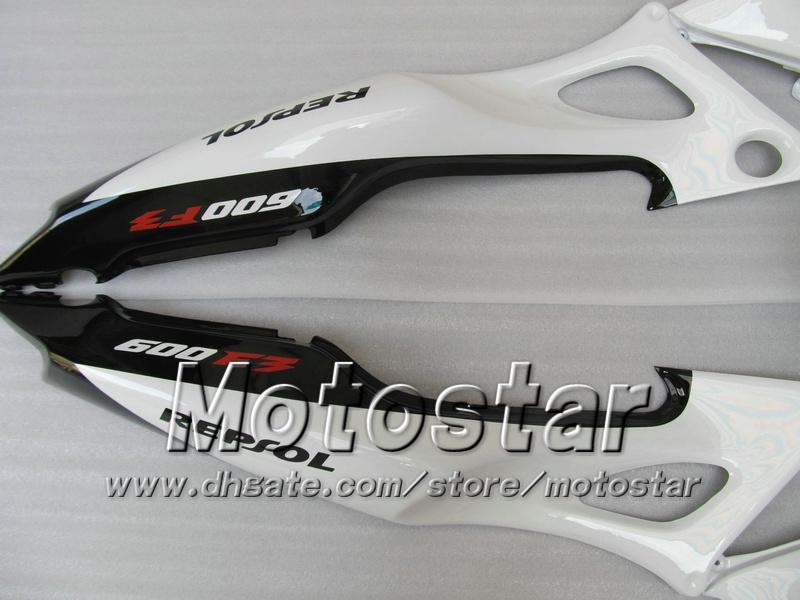 7Gifts Aftermarket Backings voor Honda CBR600F3 95 96 CBR600 F3 1995 1996 CBR 600 F3 95 96 Glossy White Black Repsol Fairing