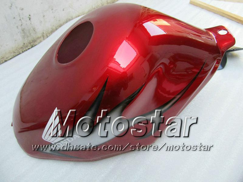 Kit de carroçaria para HONDA CBR600 F3 97 98 CBR 600 F3 1997 1998 CBR 600F3 97 98 todas as carenagens ABS vermelhas
