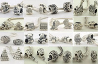 Wholesale Cheap Number Charm Beads - 10%off!Fit Chamilia Pandora charms Bracelets 925 Silver beads bead wholesale beads jewelry beads cheap beads fashion jewelry wholesale!70pcs
