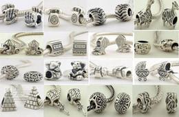 Wholesale Cross Bead Charms Cheap - 10%off!Fit Chamilia Pandora charms Bracelets 925 Silver beads bead wholesale beads jewelry beads cheap beads fashion jewelry wholesale!70pcs