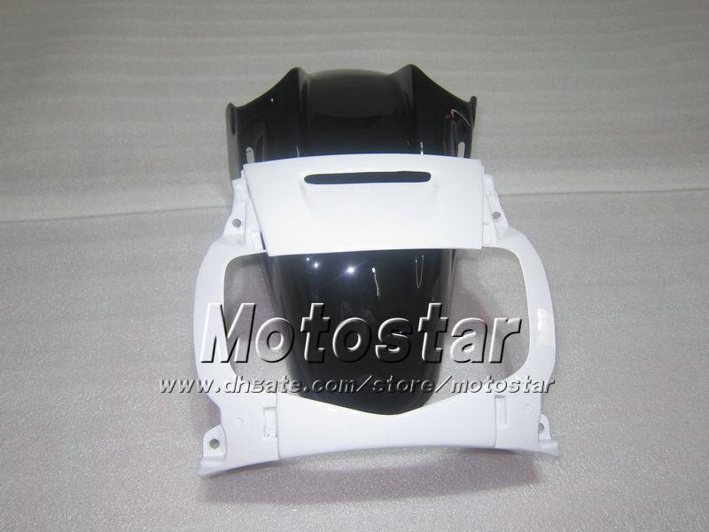 Carénages moto pour HONDA CBR600 F2 91 92 93 94 CBR600F2 1991 1992 1993 1994 CBR 600 brillant blanc noir carénages sur mesure UU18