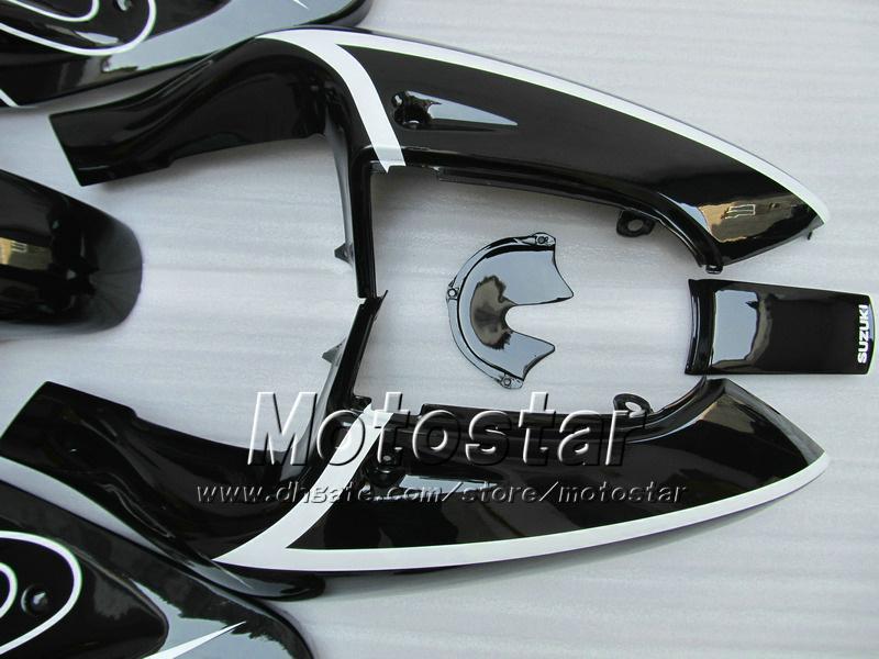 Personalizado preto brilhante Corona motocycle carenagens UU39 PARA 1996 1997 1998 1999 2000 GSXR600 suzuki GSXR750 GSXR 600 750 96-00 peças de reposição