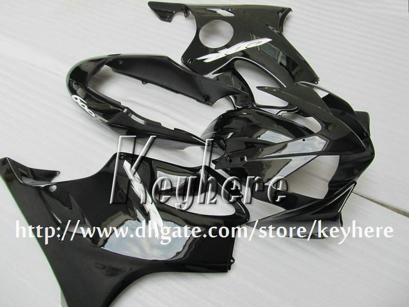 Gratuit 7 cadeaux kit carénage personnalisé pour Honda CBR600 2004 2005 2006 2007 CBR 600 04 05 06 07 carénages F4i G1j de carrosserie de tous moto corps noir