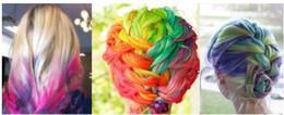 Wholesale Pastel Dye Fencai - Women's Fashion Non-toxic Temporary Color Hair Chalk Dye Paste Chalk Bug Rub Soft Fencai Bar 6Pieces set