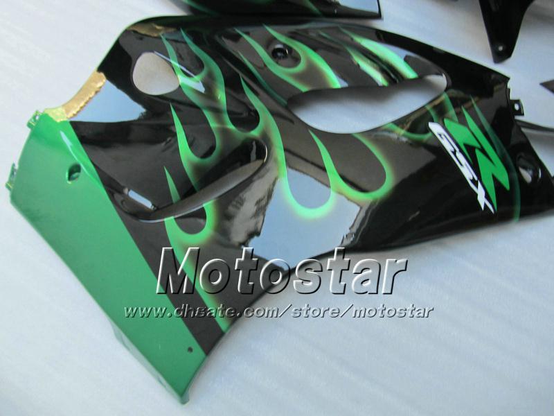 맞춤형 Motocycle Fairings UU73 1996 1997 1998 1999 2000 Suzuki GSXR600 GSXR750 GSXR 600 750 96 97 98 99 00 96-00