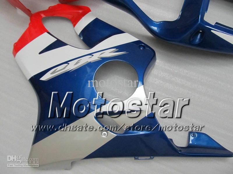 Carenados baratos para HONDA CBR600F4i 01 02 03 CBR600 F4i CBR 600 F4i 2001 2002 2003 inyección azul azul brillante kits de carenado de la motocicleta
