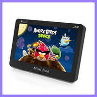 JXD S18 4,3 polegadas Mini PAD Tablet PC RAM 512MB 4 GB Android 4,0 Amlogic 8726 M3-L Wifi resistiva touch screen tablet pc