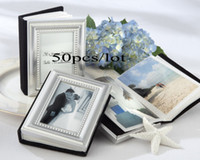 Wholesale Wedding Placecard - Wedding favors Little Book of Memories Placecard Holder and Mini Photo Album For wedding favors in the philippines 50pcs lot Free shipping