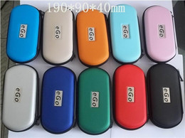 Wholesale Ego L - Best Quality colorful eGo carry case eGo zipper carry case in L M S Size for eGo-T eGo-C eGo-W eGo-Q eGo-K zipper case