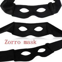 Wholesale Black Mask Zorro - 50pcs lot Free shipping 2013 Zorro  masquerade fabric mask  party gifts mask (CZ-017)