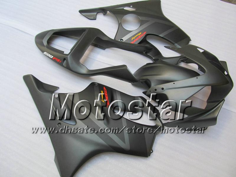 Personalizza carene carrozzeria HONDA CBR600F4i 01 02 03 CBR600 F4i CBR 600 F4i 2001 2002 2003 carenatura grigia piana VV6