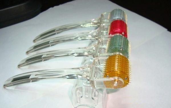 20 teile / los Griff Verwenden MT Derma Roller 192 Nadeln Dermaroller Haut Schönheit Micro Nadel Roller