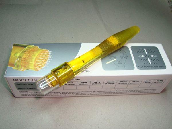 20 stks / partij Derma Stamp 35 Naalden Oogbehandeling Dermaroller voor Neus Enhancer Titanium Micro Naald Derma Roller