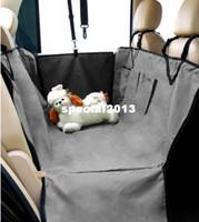 Wholesale Pet Dog Car Seat Cover - Wholesale Pet Supplies Pet Dog Car Seat Cover Waterproof Hammock Grey