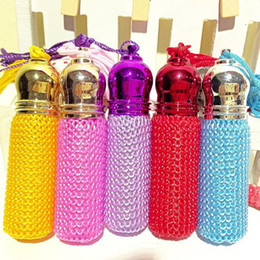 Wholesale Bottle For Aroma Oil - 10ml Lovely Fragrance Glass Bottles Aroma Essential Oil Bottle for the Perfume Shop 10pcs lot DC305