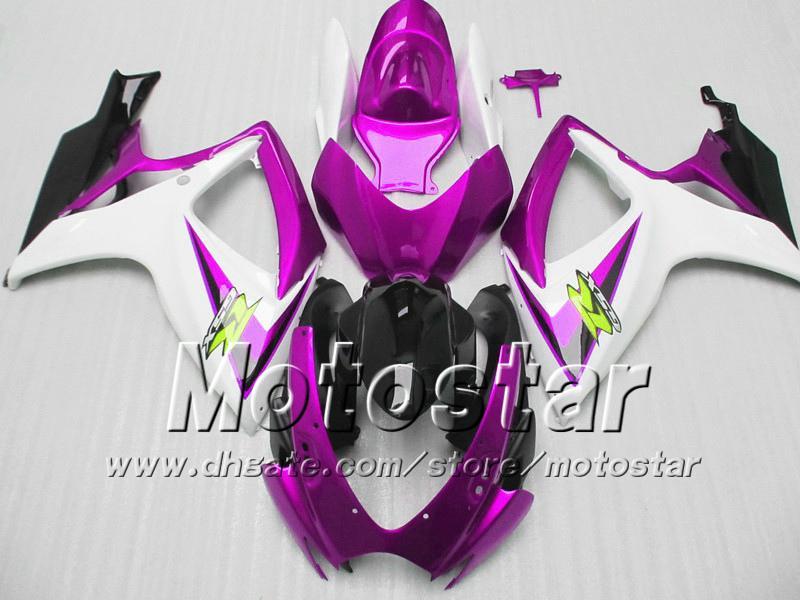 Kit carene stampi ad iniezione SUZUKI 2006 2007 GSXR 600 750 K6 GSXR600 GSXR750 06 07 R600 R750 kit carene moto VV74