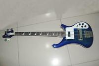 Wholesale Bass Guitar Burst - high 4 strings 4003 Bass guitars blue burst Electric Bass Guitar Free shipping