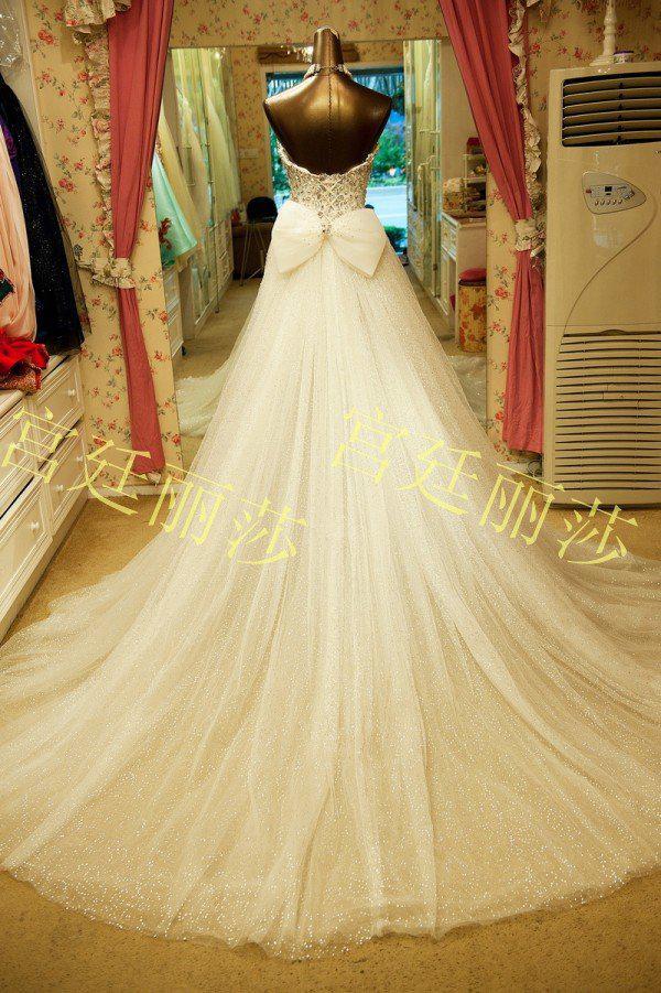 2019 nuovo arrivo A-Line Gorgeous Sweetheart fatto a mano perline perline abito da sposa lussuoso abiti da sposa in cristallo Bellissimo splendido abiti da sposa