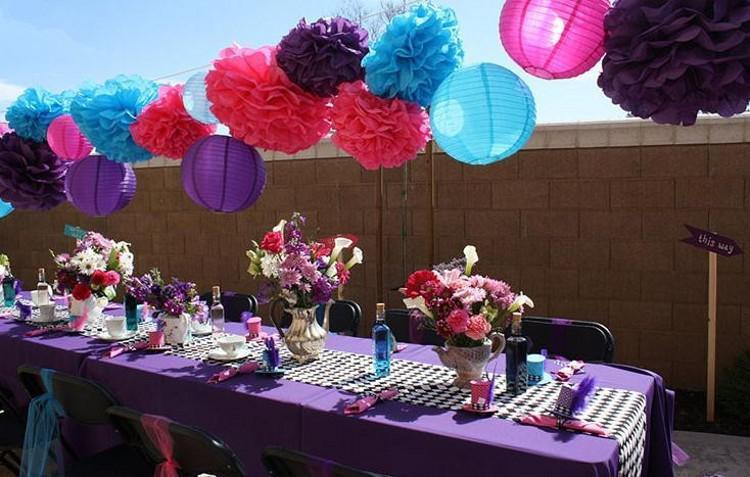 Hot Selling 20 CM Papier Bloem Bal voor bruiloft benodigdheden met 13 verschillende kleuren Mooie feestdecoraties Simulatie kunstbloemen