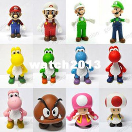 Wholesale 12 inch figures - Super Mario Bros 3.5-5 INCH Figure New Toy CHOOSE ONE FROM 12