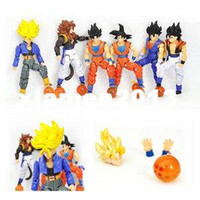 Wholesale Dragonball Z Dbz - Set of 6 Dragonball Z Dragon Ball DBZ Action Figures Toys TGZ001
