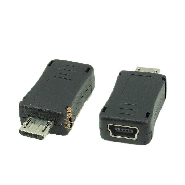 Micro Usb Mini Usb Adapter Convertitore caricatore di dati