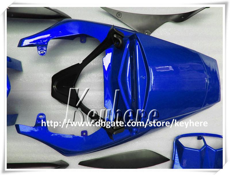 7 regali Kit carena in plastica personalizzato YAMAHA YZFR6 2005 YZF R6 YZF-R6 YZF600R 05 carene G9o kit corpo nero moto blu vendita calda