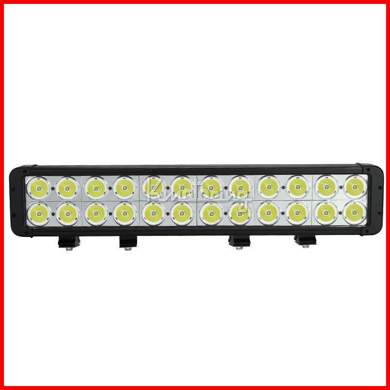 "NEW 20"" 240W CREE 24LED*10W CREE Work Light Bar Off-Road SUV ATV 4WD 4x4 Spot Flood Combo Beam 24000lm IP67 Driving Truck Lamp 9-70V 2 Row"